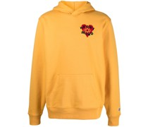 "Kapuzenpullover mit ""Heart & Mind""-Patch"