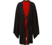 Wollmantel im Kimono-Stil