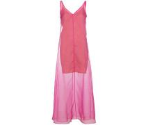 Costa sleeveless sheer dress