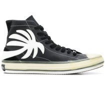 High-Top-Sneakers mit Palme