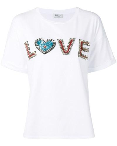 """T-Shirt mit """"Love""""-Print"""