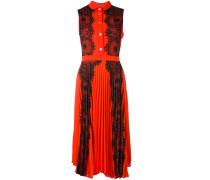 - Spitzenkleid mit Falten - women - Polyester - 42