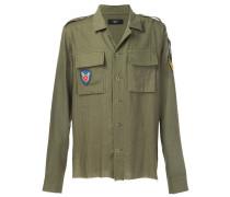 Hemd im Militär-Look