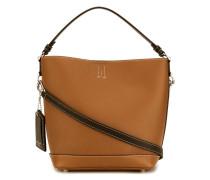 Handtasche mit Kontrastnaht - women - Leder