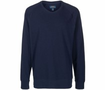 Sweatshirt mit gesäumten Kanten