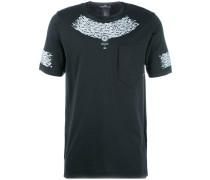compass print T-shirt