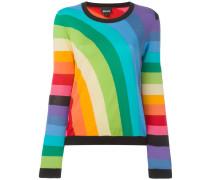 rainbow intarsia jumper
