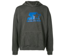 starter logo hooded sweatshirt