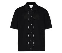 Gestricktes Poloshirt mit Verzierung