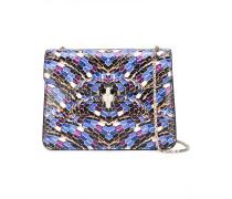 snake motif crossbody bag