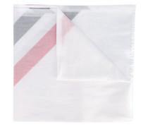 Gestreifter Schal - men - Baumwolle