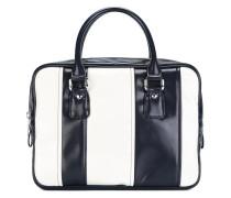 Gestreifte Handtasche