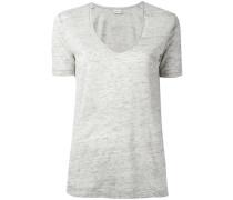 'Jyttio' T-Shirt - women - Leinen/Flachs - S