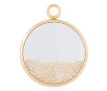 Großer 18kt' Chivoir' Gelbgoldanhänger mit Perlen