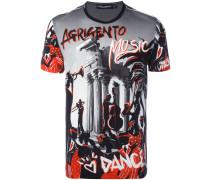 "T-Shirt mit ""Music""-Print"