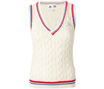New York cable knit vest