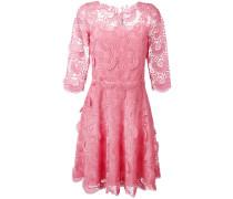 Kleid mit Spitze - women - Seide/Polyester - 42