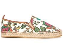 Espadrilles mit floralem Print - women