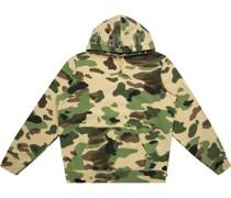 Hoodie mit Camouflage-Print