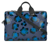 Laptoptasche mit Leoparden-Print - men
