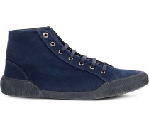 Sneakers mit Kord-Einsatz - men