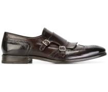 Monk-Schuhe mit Budapestermuster