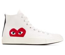 heart print sneakers