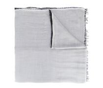raw edge scarf - men - Seide/Modal