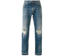 Gerade DistressedJeans
