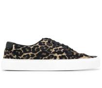 'Venice' Sneakers mit Leoparden-Print