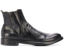 slip-on leather boots