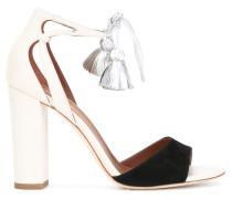 Sandalen mit Quaste - women - Leder/Wildleder