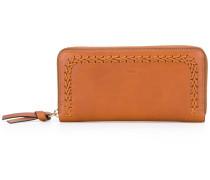 - Portemonnaie mit Flechtstreifen - women