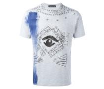 - T-Shirt mit Auge-Print - men - Baumwolle - S