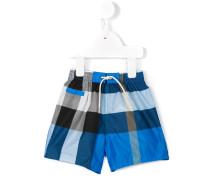 Check casual shorts