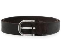 hunting brushed-suede belt