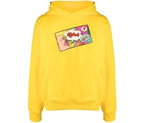 pop art print hoodie