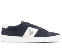 Sneakers mit Zebra-Detail