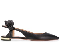 Bow Tie flat ballerina shoes