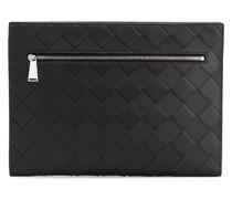 Laptophülle mit Intrecciato-Muster