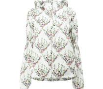 Jacke mit floralem Print