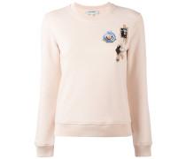 Sweatshirt mit Patches - women - Baumwolle - M