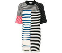 T-Shirt-Kleid in Colour-Block-Optik