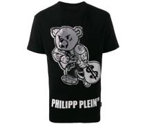 T-Shirt mit Teddy-Logo