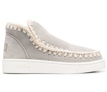 Eskimo Sneaker-Boots mit Kontrastdetail
