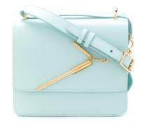 Handtasche mit Strohhalm