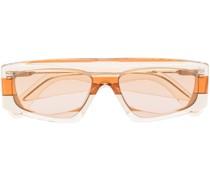 Eckige Les Lunettes Yauco Sonnenbrille