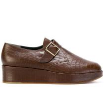 monk strap platform loafers