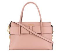 bow detail tote bag