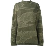 'Seaosn 3' Sweatshirt mit Camouflage-Print